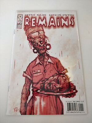 Remains #1  IDW Zombie Comic 2004 Steve Niles Kieron Dwyer