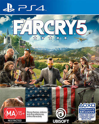 Far Cry 5 PS4 Playstation 4 Game Brand New in Stock from Brisbane