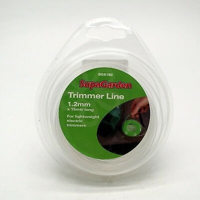 15m 1.2mm Trimmer & Strimmer Line