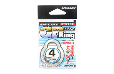 Decoy R-6 GP Ring Super Strong and Small Solid Rings Size 4 (5045)
