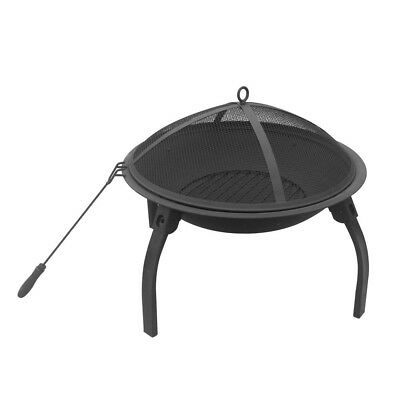 NEW Portable Foldable Outdoor Fire Pit Fireplace