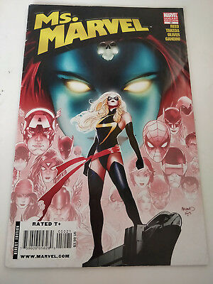 Ms Marvel Issue #50 Marvel Comics 2006 Series Renaud Variant Cover  Reed  Takeda