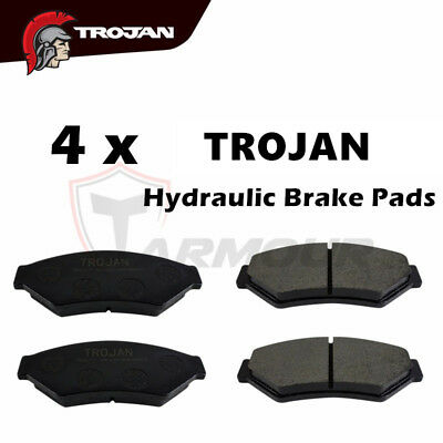 Trojan Trailer Hydraulic Caliper Brake Pads Disc For Caravan Boat Trailer Parts