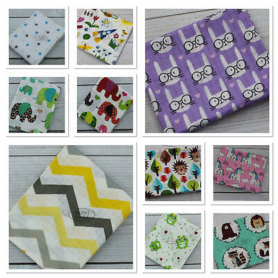 Beautiful Printed Muslin Squares 80x70cm 100% COTTON