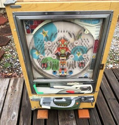 Vintage Nishijin Pachinko SuperDelux Pinball Machine-USED-also Local Pickup