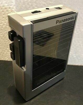 Vintage Panasonic RQ-J50 Stereo Cassette (Walkman Type) Portable Player VG Cond.