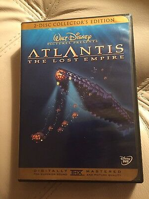 DISNEY - Atlantis: The Lost Empire 2 Disc Collectors Edition - DVD
