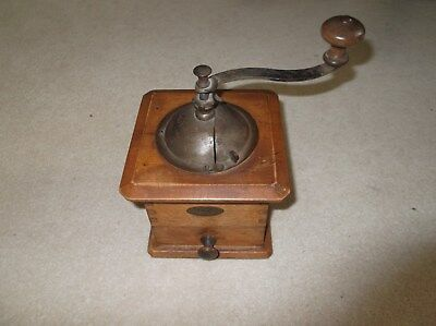 Peugeot Freres antique manual coffee grinder;