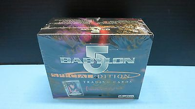 Babylon 5 Skybox Special Edition Trading Cards 36 Packs Autograph Hobby Sealed