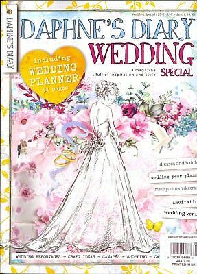 Daphne's Diary Wedding Special 2017 Including 64-page Wedding Planner