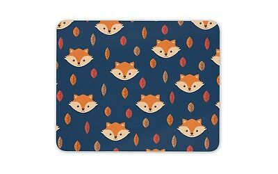 Cute Ginger Fox Mouse Mat Pad - Fox's Wild Animal Mum Fun Gift PC Computer #8609