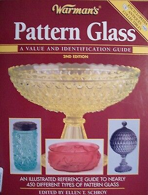 Vintage Glass Pattern Id Price Value Guide Collectors Book