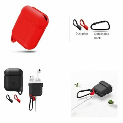 AirPods Shock Proof Case Soft Silicone Drop-proof Waterproof Protective Cover
