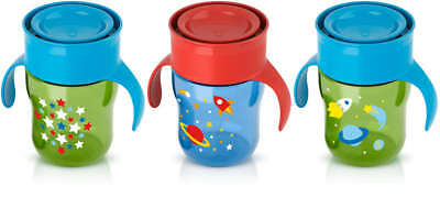Philips Avent 9oz Spill Free Kids Cup w/ Lip Activated Lid Valve-Assorted Colors