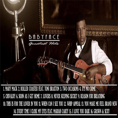 Best Of Babyface The Mixtape DJ Compilation Mix CD Lovers Mix