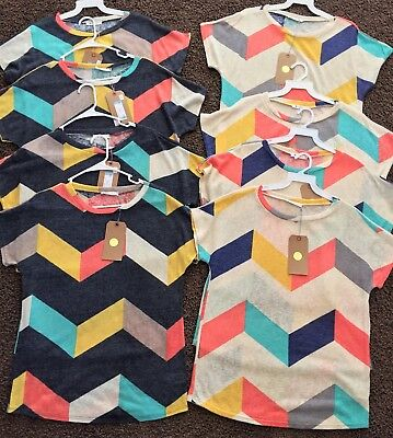 Women's Wholesale Lot - 8 piece Tops- BRAND NEW w/ Tags!!