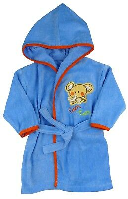 Baby Boys Towelling Dressing Gown 18-24 Month One only