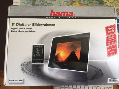 "Digitaler Bilderrahmen Hama New Basic 20,3 cm (8,0"")"