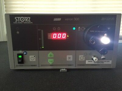 Karl Storz Xenon 300 Light Source w/ BRAND NEW bulb Ref: 20133120
