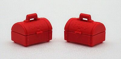 2 X Treasure Chest Box Small Gold Playmobil To Coins Thaler Gold 2059