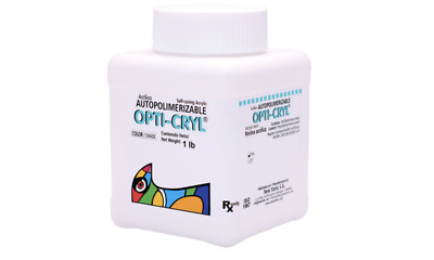 Opti-Cryl Self Curing Acrylic Original or Clear Shade 1Lb