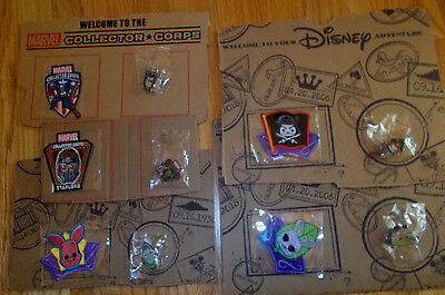 FUNKO POP! DISNEY & MARVEL COLLECTOR CORPS Pins and Patches You Pick ~ ALL NEW