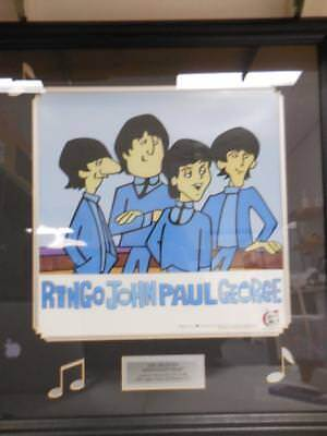THE BEATLES 'Moonlight Boat' Limited Edition Sericel of 500