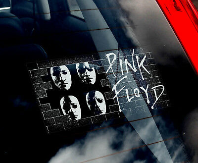 Pink Floyd - Car Window Sticker - Band Decal Laptop Rock Music Vinyl Sign - v01