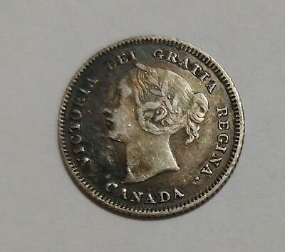 *** Canada 5 Cents 1883H *** Collectable Coin *** Key Date ***