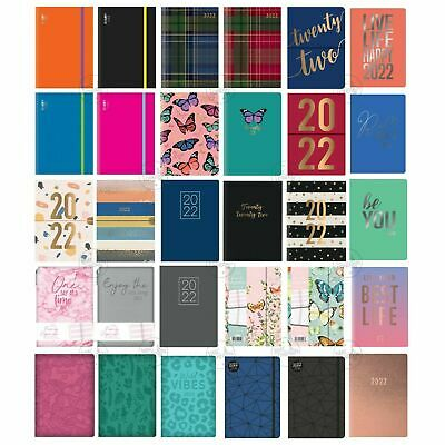 2019-2020 A5 Academic diary mid year Page aDay/WTV diary planner