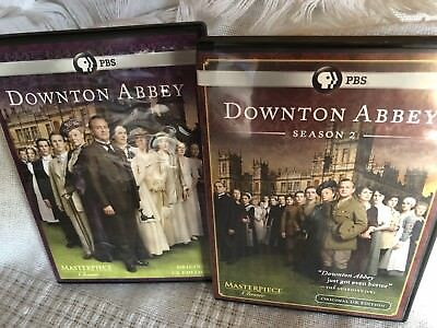 Pbs Downton Abbey Dvd Original Uk Edition. Seasons 1 & 2 (6 Discs)
