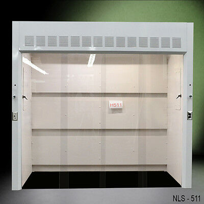 "NEW Laboratory 8' Walk In chemical fume hood with 39"" deep work area -"