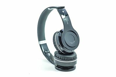 Black Wireless Stereo Bluetooth Headphone for iPhone 4 5 5s Samsung S4 iPad Note