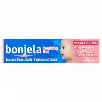 Bonjela Teething Gel From 2 Months - 15G Baby Toothpain Teeth Pain Free P&p