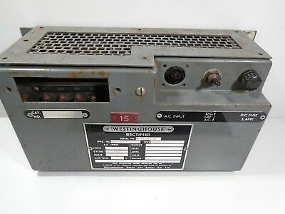 Westinghouse Rectifier 1091 R12678