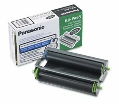 Panasonic KXFA65 Film Cartridge And Film Roll (PANKXFA65) Replacement New Sealed