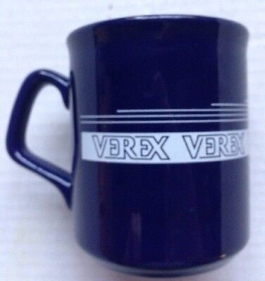 1980s VEREX CORPORATION MORTGAGE INSURANCE COMPANY COFFEE MUG, VINTAGE