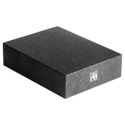 "HHIP 4401-0011 Granite Surface Plate, Grade B, Ledge 0, 12"" x 9"" x 3"""