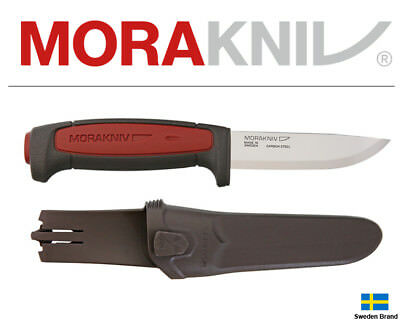 Morakniv Fixed Blade Knife PRO C All Round Carbon Steel With Sheath 01508