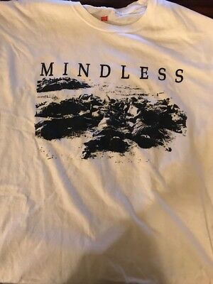 Mindless - Planet Xl Shirt Mitb Power Violence Crossed Out Siege