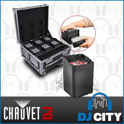 Chauvet DJ Freedom Flex H4 IP 4x IP Rated LED Parcan Uplight w/ Charge Case