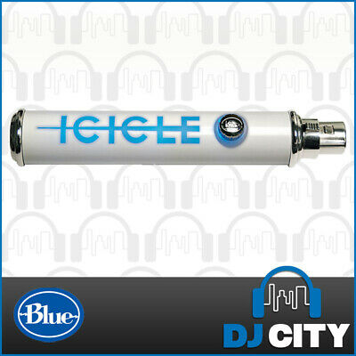 Blue Microphones Icicle XLR to USB Microphone Preamp Adapter Audio Mic Interface