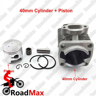 40mm Cylinder 10mm Piston Kit For 47cc 2 Stroke Mini Quad ATV Pocket Dirt Bike