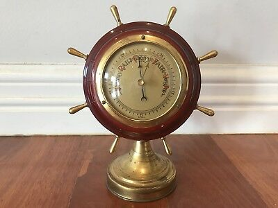 Vintage Collectable Barometer Thermometer Hygrometer West Germany Maritime