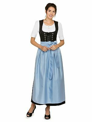 Stockerpoint Dirndl Apron 96cm SC270 Light Blue