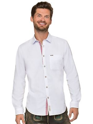 Stockerpoint Traditional Shirt Long Sleeve Modern Fit Cohen Whitered