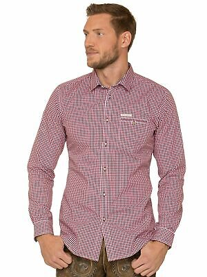 Stockerpoint Traditional Shirt Long Sleeve Modern Fit Dave4 Red