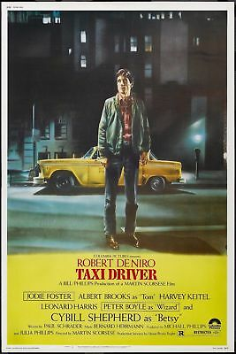 Taxi Driver 1976 Rober De Niro Retro Movie Art Silk Poster 8x12 24x36 24x43