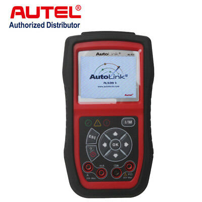 Original Autel AutoLink AL539B OBD2 Code Reader Electrical Battery Tester Tool
