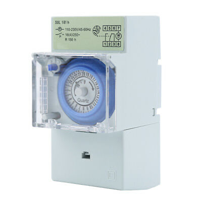 SUL181H  24 Hours Analogue Mechanical Time Indoor Wall Switch Timer AC 220V 16A